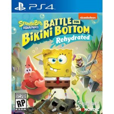 Spongebob SquarePants Battle for Bikini Bottom Rehydrated (PS4), 226105, Приключения/экшен