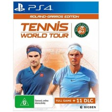 Tennis World Tour Roland Garros Edition (PS4, русские субтитры), 223758, Спорт