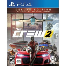 The Crew 2 Deluxe Edition (PS4, русская версия), , Гонки