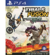 Trials Fusion Awesome Max Edition (PS4, русские субтитры), 209251, Гонки