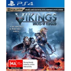 Vikings Wolves of Midgard Special Edition (PS4, русские субтитры), 224213, РПГ