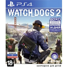 Watch Dogs 2 (PS4, русская верс..