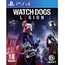 Watch Dogs Legion (PS4, русская версия), , Приключения/экшен