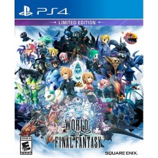World of Final Fantasy Limited Edition (PS4), 218061, РПГ