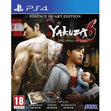 Yakuza 6 The Song of Life Essence of Art Edition (PS4), 221504, Приключения/экшен