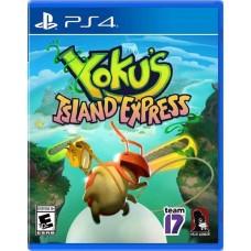 Yokus Island Express (PS4 русские субтитры), PS4, Приключения/экшен