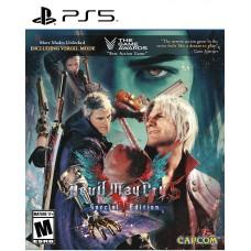 Devil May Cry 5 Special Edition (PS5, русские субтитры), 227900, Приключения/экшен