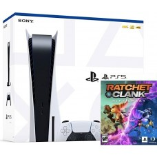 PlayStation 5 Bundle (825Gb, белый, Ratchet and Clank Rift Apart), ,