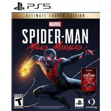 Spider-Man Miles Morales Ultimate Edition (PS5, русская версия), 227504, Приключения/экшен