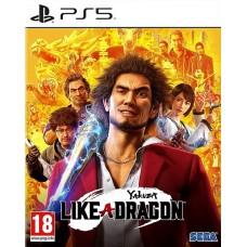 Yakuza Like a Dragon (PS5, русские субтитры), 101635, Приключения/экшен