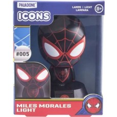 Светильник Spider-Man Miles Morales Icon Light BDP (Paladone), ,