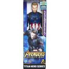 Фигурка Avengers Titan Hero Movie Captain America, 236669, Фигурки