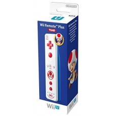 Nintendo Remote Plus - Toad White (for Wii & Wii-U), , Аксессуары для Nintendo WII U