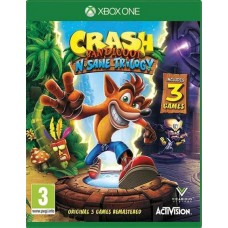 Crash Bandicoot N Sane Trilogy (Xbox One), 221474, Приключения/экшен