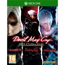 Devil May Cry HD Collection (Xbox One), 221084, Приключения/экшен