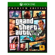 GTA V Premium Edition (Xbox One, русские субтитры), 225374, Приключения/экшен