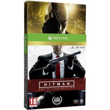 Hitman Definitive Steelbook Edition (Xbox One, русские субтитры), 221481, Шутеры