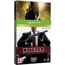 Hitman Definitive Steelbook Edition (Xbox One, русские субтитры), 221481, Шутеры
