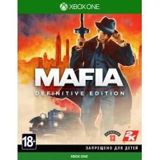 Mafia Definitive Edition (Xbox One, русская версия), 227099, Приключения/экшен