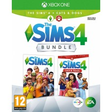 Sims 4 + Cats and Dogs (Xbox One, русские субтитры), 222865, Приключения/экшен