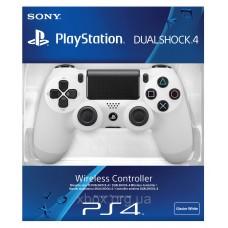 Джойстик Dualshock 4 для игровой приставки Sony Playstation 4 (белый), , Аксессуары