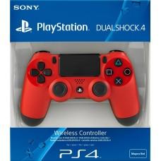 Джойстик Dualshock 4 для игровой приставки Sony Playstation 4 (красный), , Аксессуары