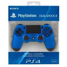 Джойстик Dualshock 4 для игровой приставки Sony Playstation 4 (синий), , Аксессуары