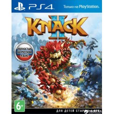 Knack 2 (PS4, русская версия), 436610, Приключения/экшен