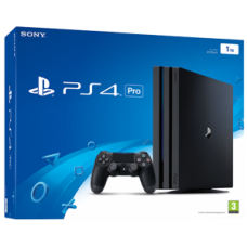 PlayStation 4 Pro (1 Tb, CUH-72XX, черный), 70650, Консоли