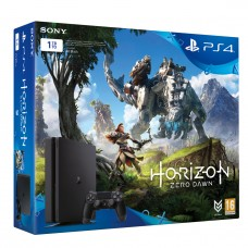 PlayStation 4 SLIM Bundle (1 Tb, Horizon Zero Dawn), , Консоли