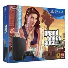 PlayStation 4 SLIM Bundle (500 Gb, GTA V), , Консоли