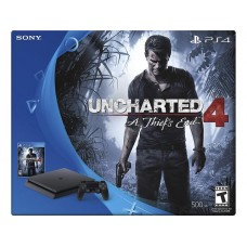 PlayStation 4 SLIM Bundle (500 Gb, Uncharted 4), , Консоли