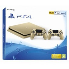 PlayStation 4 SLIM Gold Edition (500 Gb, CUH-20XXA), , Консоли