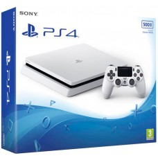 PlayStation 4 SLIM White (500 Gb, CUH-20XXA), 401665, Консоли
