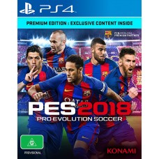 Pro Evolution Soccer (PES) 2018 Premium Edition (PS4, русские субтитры), , Спорт