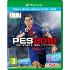 Pro Evolution Soccer (PES) 2018 Premium Edition (Xbox One, русские субтитры), , Спорт