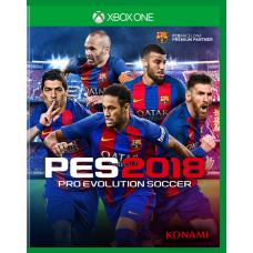 Pro Evolution Soccer (PES) 2018 (Xbox One, русские субтитры), , Спорт