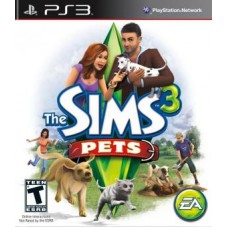 Sims 3: Pets (PS3, русские субтитры), , Приключения/Экшн