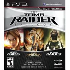 Tomb Raider Trilogy HD (PS3), 66300, Приключения/Экшн